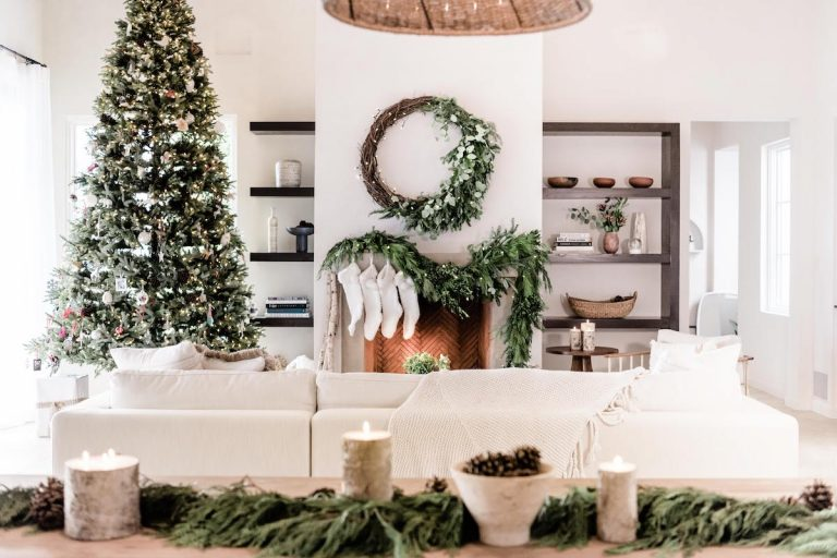 How to Make the Natural, Woodsy Holiday Wreath Above My Fireplace